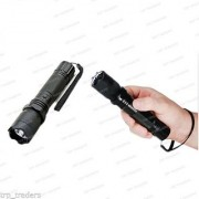 Rechargeable Self Defense Stun Gun with Flashlight Torch - Women safety