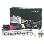 Тонер касета LEXMARK C5240MH (Magenta)