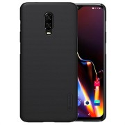 Nillkin Super Frosted Shield OnePlus 6T Cover - Zwart