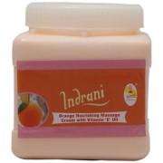 Indrani Orange Nourishing Massage Cream With Vitamin E Oil 1 kg