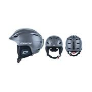 Dirty Dog ECLIPSE Ski Helmet (Adults) - Dark Silver