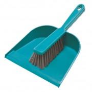 York műanyag szemeteslapát + kefe - 306201