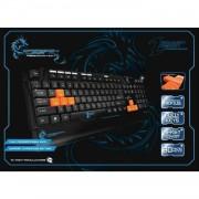 Dragon war recon gaming toetsenbord - zwart