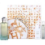 Hermès Un Jardin Sur Le Nil подаръчен комплект IV. тоалетна вода 100 ml + 15 ml + мляко за тяло 40 ml