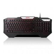 Клавиатура Lenovo Legion K200, гейминг, 12 програмируеми бутона, подсветка, USB