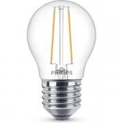 Philips E27 filament led-gloeilamp kogel dimbaar 2.7W (25W)