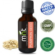MNT Pumpkin Seed Carrier Oil (15Ml) 100% Pure Natural & Therapeutic Grade Oil for Skin Care Hair Lip and Nail Care