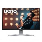 BenQ EX3203R Monitor Piatto Curvo per Pc 31,5'' Quad Hd Led Nero Silver