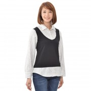 Soobinie最旬コーデ完成あったかシャツブラウス【QVC】40代・50代レディースファッション