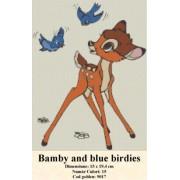 Bamby blue birdies (kit goblen)