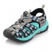 ALPINE PRO LANCASTER Unisex obuv letní UBTJ008771 světle šedá 39