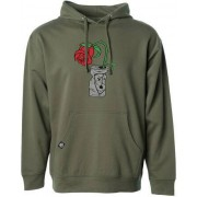 Subrosa Trashed Can Pullover Hoodie (Army Green)