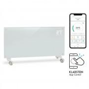 Klarstein Bornholm Smart, конвекторен нагревател, 2000 W, WiFi, LCD дисплей, таймер, IP24, бял (ACO7-BornhomS-W)