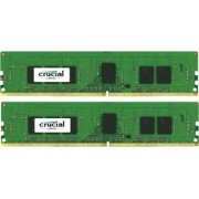 Kit Memorie Server Crucial ECC UDIMM 2x4GB DDR4 2133MHz CL15 Single Rank x8