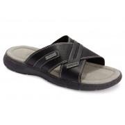 Footflexx® Heren comfort sandalen (46, Zwart)