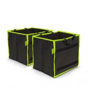 Autós rendszerező csomagtartóba 1 tárolórekesszel 25 x 30 x 30 cm 2 db / csomag