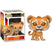 Disney Figura FUNKO Pop! Disney: Lion King 2019- Simba