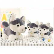 EH Husky Siberiano Super Lindo Peluche Perro De Juguete Modelo De Simulación Kids Apaciguar Doll