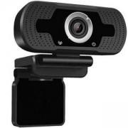 Уеб камера Tellur FULL HD, 2 Mpx, USB 2.0, ръчен фокус, Черен, TLL491061