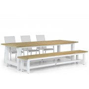 Lifestyle Garden Furniture Lifestyle Ultimate/Los Angeles 260 cm dining tuinset 5-delig