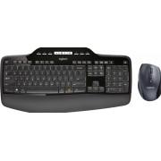 Logitech Wireless Desktop MK710 - Toetsenbord en muis set - draadloos - 2.4 GHz - Duits - QWERTZ indeling - zwart