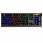 Ajazz AK60 USB Wired 110-Key Mechanical Gaming Keyboard with Blue Switch? RGB Backlight