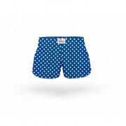 ELKA Underwear Dětské trenky ELKA sytě modré s puntíky (B0041) 140