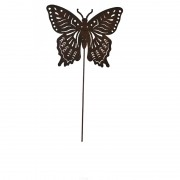 Pique jardinière papillon 43x24cm