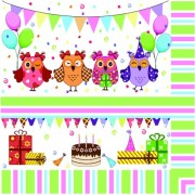 Lunchservet Sweet Owls