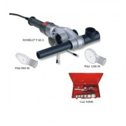 Trusa sudare pentru tevi Rothenberger din PP si PPR între 20 – 63 mm