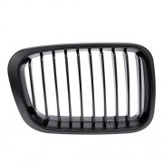 ELECTROPRIME 1 Pair Lower Front Bumper Grill Grille for 98-01 BMW E46 3Serie Sedan 4 Door