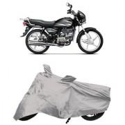 De AutoCare Premium Quality Silver Matty Two Wheeler Bike Body Cover for Hero Splendor Plus