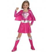Costum De Carnaval - Supergirl (roz)
