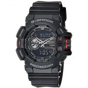 Casio G-Shock Analog-Digital Black Dial Mens Watch - GA-400-1BDR (G566)