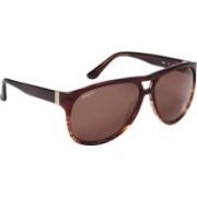 Salvatore Ferragamo Aviator Sunglasses(Green)