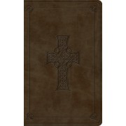 ESV Vest Pocket New Testament with Psalms and Proverbs (Trutone, Olive, Celtic Cross Design)