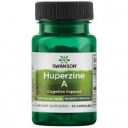 Swanson Maximum Strength Huperzine A 200 mcg 30 kapslí