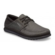Crocs Santa Cruz Playa Lace-Up Schoenen Herren Black / Black 43