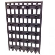 Lego Parts Door 1 x 8 x 12 Castle Gate - Portcullis Pearl Dark Gray