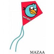 X-Kites MicroDiamond Angry Birds Kite - Set of 4 (Blue Bird and Black Bird)