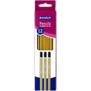Marlin Hb Pencil Strips Blue