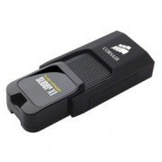 32GB USB Flash Drive, Corsair Voyager Slider X1, USB 3.0, черна