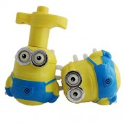 Flysky Minions Flash Laser Top Music With Flashing Top/Infrared Light/Infrared Music/Best Spinning Time