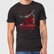 Marvel Avengers Falcon T-shirt - Zwart - M - Zwart