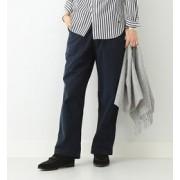 BUZZ RICKSON'S × BEAMS BOY / サテンベイカーパンツ【ビームス ウィメン/BEAMS WOMEN レディス カーゴ NAVY ルミネ LUMINE】