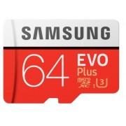 Card de Memorie Samsung MicroSDXC, 64GB, Model 2017, Adaptor inclus