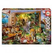 Puzzle 6000 Piezas Entrando En La Habitación - Educa Borras