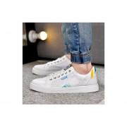 Zapatos De Caminar Fashion-Cool Para Hombre-Blanco