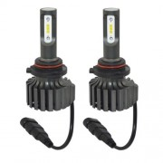 2 PCS V1S HB4 30W 4000LM 6000K IP67 Waterproof Car Headlight with 6 CSP Lamps White Light DC 11-30V