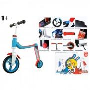 Scoot and ride scooter 2 in 1 buddy blu/arancio 1+